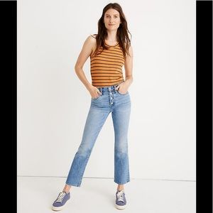Madewell Cali Demi-Boot Cut 2019 Jeans